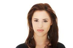 angry looking woman Στοκ Εικόνες