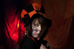 Angry mad hatter Stock Photography