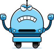 Angry Male Robot Royalty Free Stock Photo