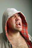 Angry man Royalty Free Stock Image