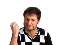 Angry man Stock Image