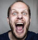 angry man Στοκ Φωτογραφία