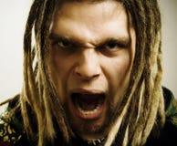 Angry man. Stock Photography