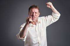 angry man Στοκ Φωτογραφίες