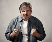 angry man Στοκ Εικόνες