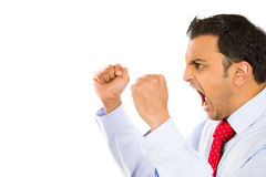 Angry man Stock Photography