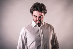 Angry man Royalty Free Stock Photo