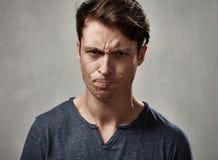 Angry man. Royalty Free Stock Photo