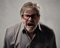 Angry man. Royalty Free Stock Photos