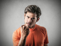Angry man Stock Photography