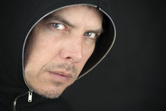Angry Man Looks To Camera Royalty Free Stock Photography