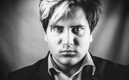 Angry man portrait Royalty Free Stock Photos