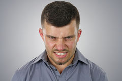 Angry man Stock Photos