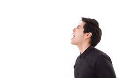 Angry man shouting Stock Photography