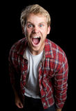 Angry Man Yelling Royalty Free Stock Photography