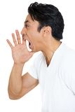 Angry man, yelling Stock Images