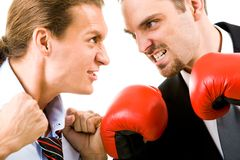 Angry men Royalty Free Stock Photo