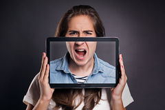 Angry stock photography