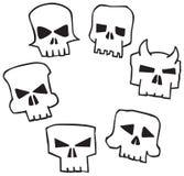Angry Monster Skull Stock Photos