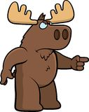 Angry Moose Stock Photography