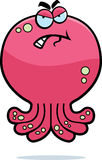 Angry Octopus Royalty Free Stock Image