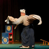 The angry old man:Jiangxi opera Breeze Pavilion Royalty Free Stock Image
