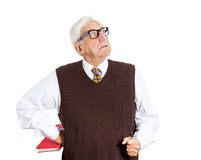 Angry older man Stock Images