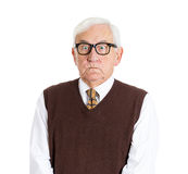 Angry older man Stock Photography