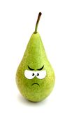 Angry pear Stock Photography