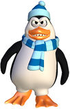 Angry penguin Stock Image