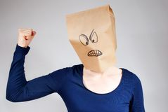 Angry person Royalty Free Stock Photography