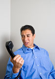 Angry Phone Call Stock Images