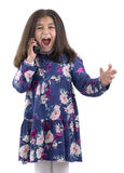 Angry Phone Call Royalty Free Stock Photo