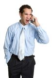 Angry Phone Man Royalty Free Stock Photos