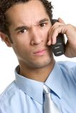 Angry Phone Man Stock Photography