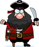 Angry Pirate Stock Image