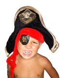 Angry Pirate. royalty free stock photography