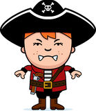 Angry Pirate Boy Royalty Free Stock Photos