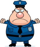 Angry Police Stock Photography