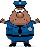 Angry Police Royalty Free Stock Photo