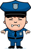 Angry Police Officer Stock Photography