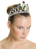 Angry princess Stock Photo