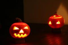 Angry pumpkin stock photos