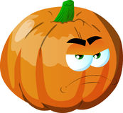 Angry pumpkin Stock Photography