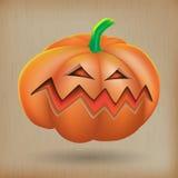 Angry pumpkin vintage background. Illustration of angry pumpkin vintage background Royalty Free Stock Image