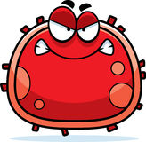 Angry Red Blood Cell Royalty Free Stock Image