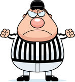 Angry Referee Royalty Free Stock Image