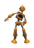 Angry Robot Royalty Free Stock Photography