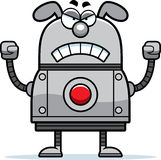 Angry Robot Dog Royalty Free Stock Photos