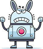 Angry Robot Rabbit Stock Images